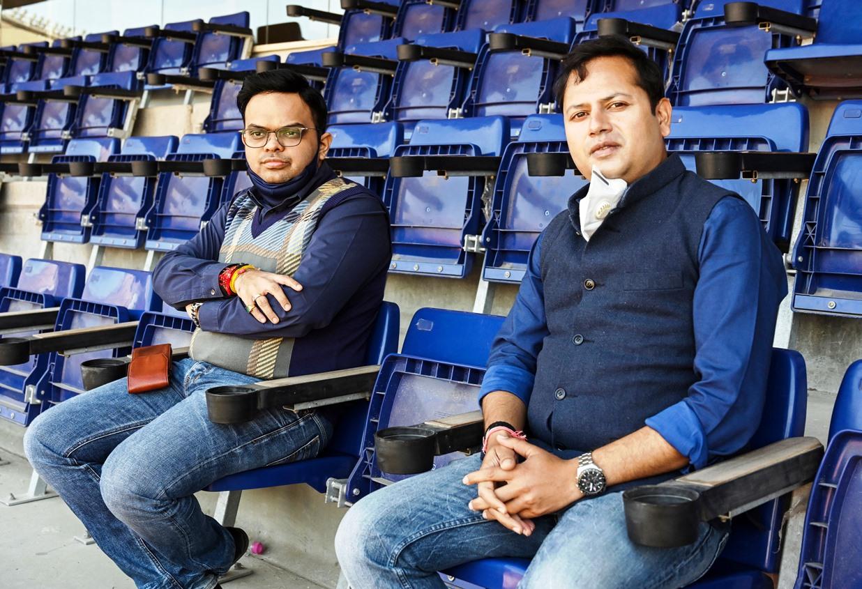 Vaibhav Ji and Jay Shah Small